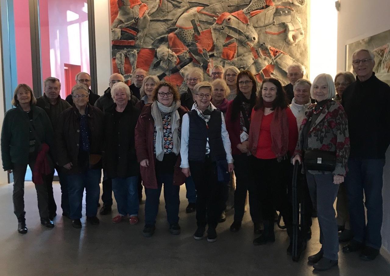 """KulturTour zur Ausstellung """"Farbe Raum Klang"""" nach Neumarkt"""