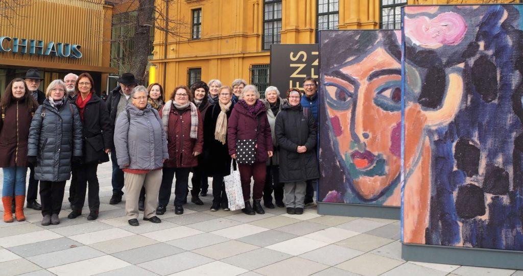 Schwarzenbrucker KulturTourer waren wieder in München …
