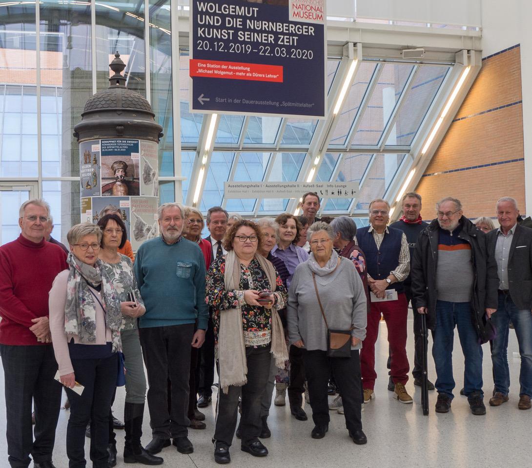 KulturTouren zur Ausstellung MICHAEL WOLGEMUT ins GNM nach Nürnberg